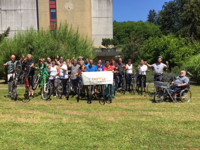 Borna Bike to work 2018: 44 Personen, 11 Teams, 13'505 Km!